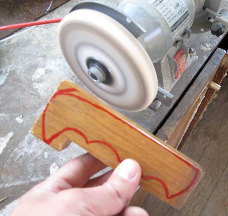 16)Восстановление ножа из тепловозного клапана