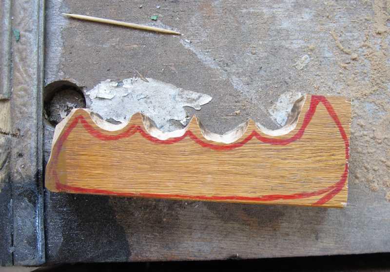 17)Восстановление ножа из тепловозного клапана