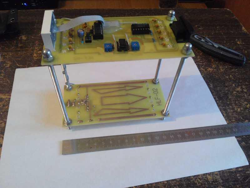 7)Обзор ультрабюджетного рамочного оптического хронографа HLF-02 (Дополненная)