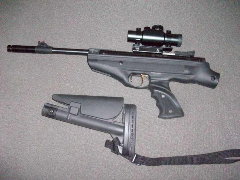 15)Обзор Hatsan Mod 25 Supertactical