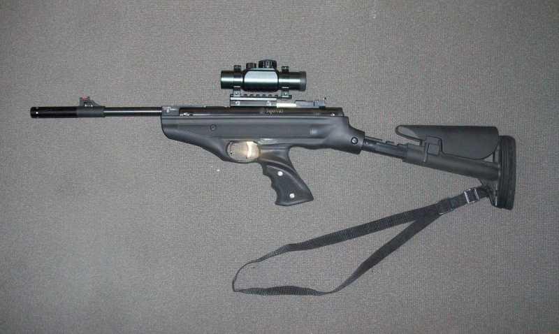 1)Обзор Hatsan Mod 25 Supertactical