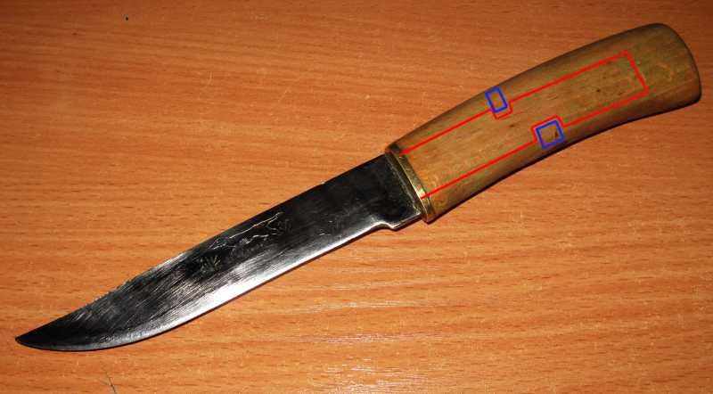 3)Нож Asus Dog
