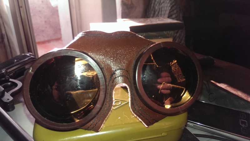 3)Подарок Артолога (горно стрелковые очки)