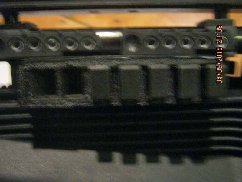 3)Блок для магазинов ИЖ61 из потолочной плитки