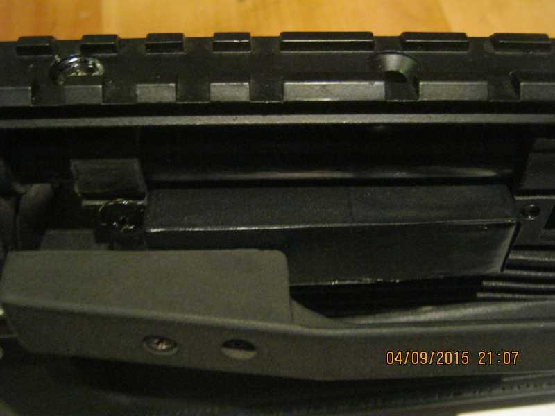 4)Блок для магазинов ИЖ61 из потолочной плитки