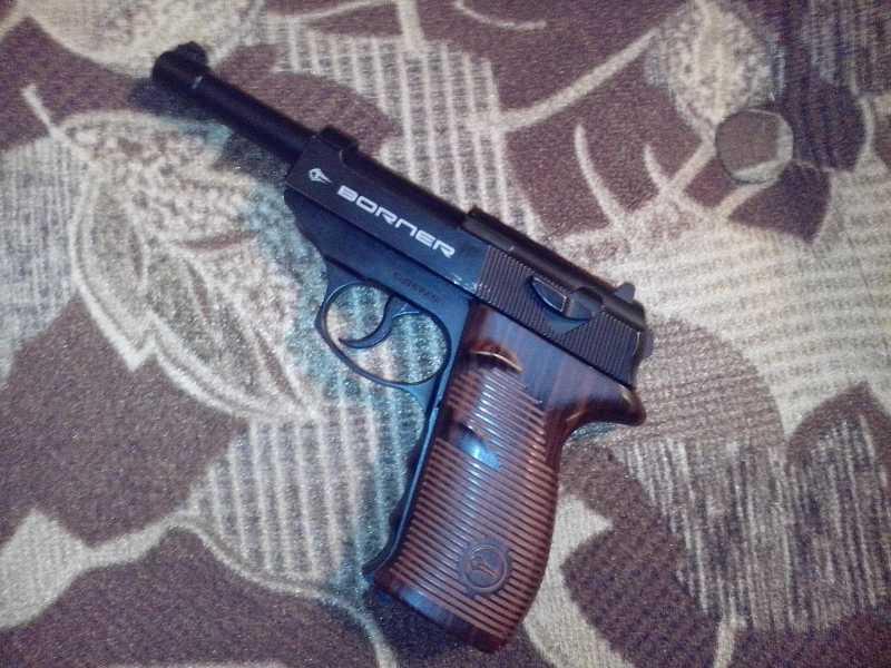 1)Мой обзор пистолета Borner C41