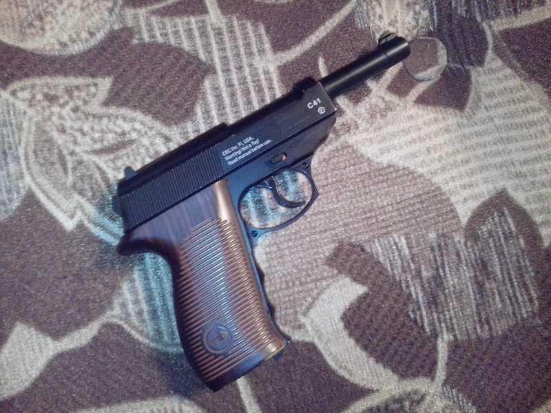 2)Мой обзор пистолета Borner C41