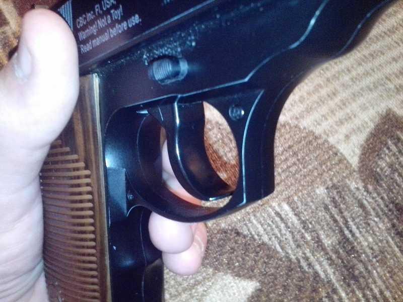 18)Мой обзор пистолета Borner C41