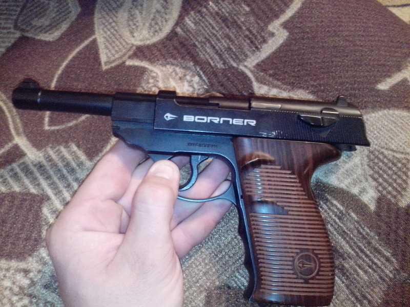 19)Мой обзор пистолета Borner C41