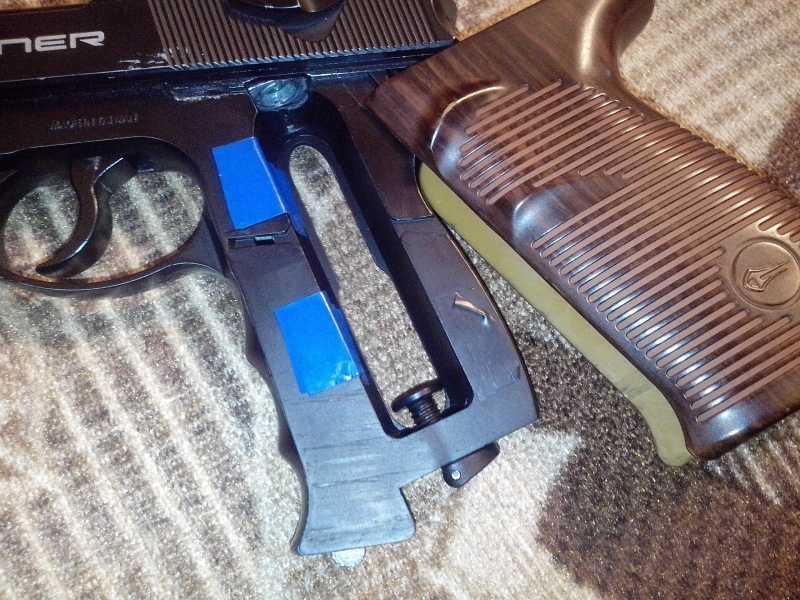 7)Мой обзор пистолета Borner C41