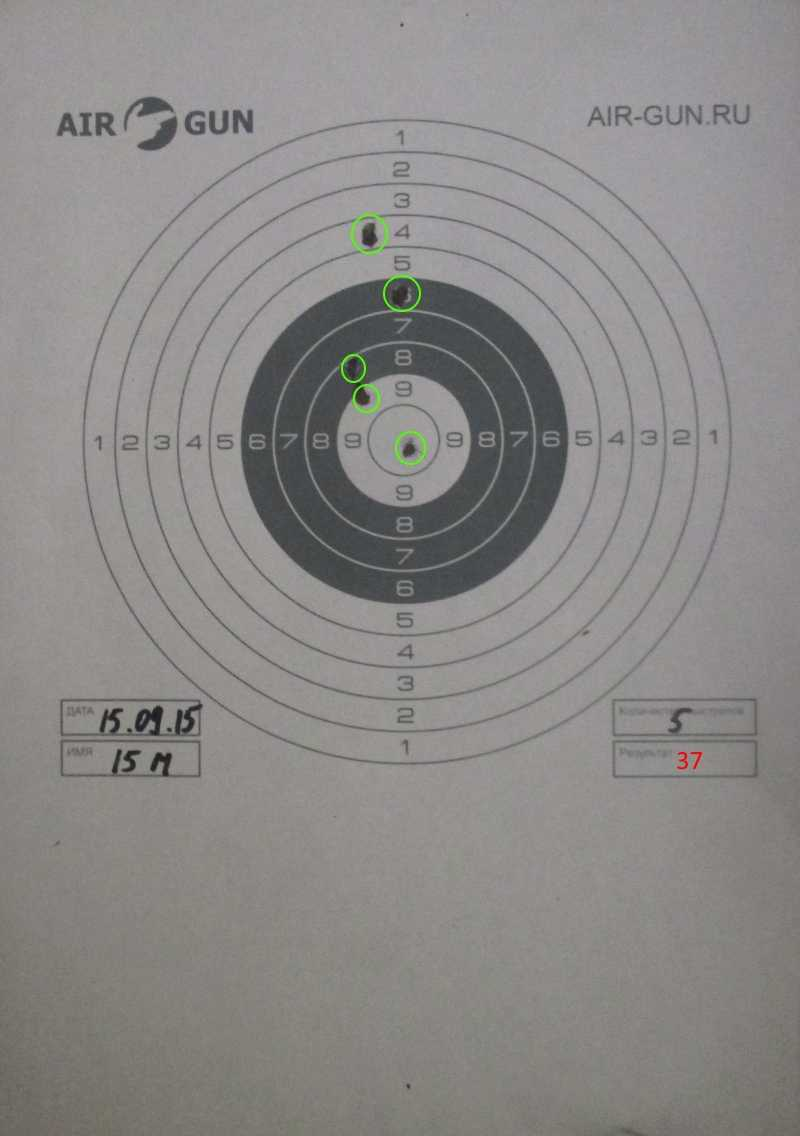 6)Осень. Стрельбы. Иж-61