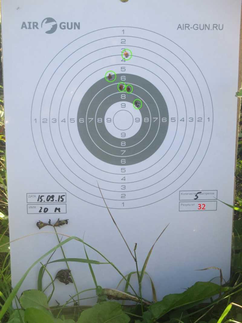 7)Осень. Стрельбы. Иж-61