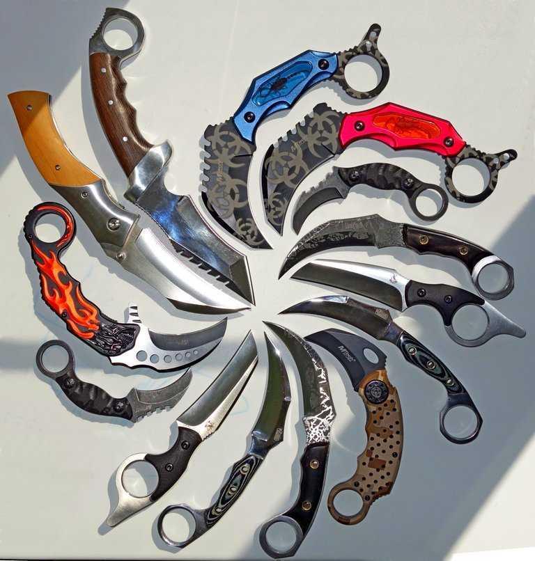7)Кто есть кто в ножемании