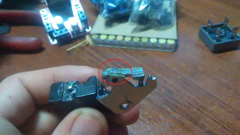 6)Borner SP 704. Доработки и модификация.