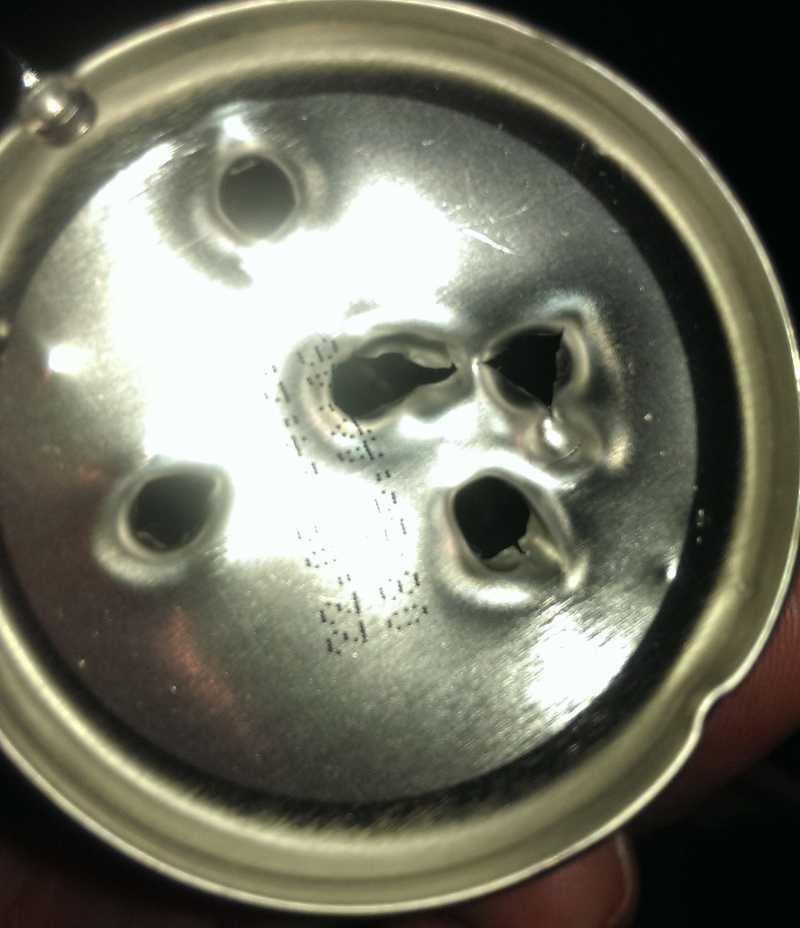8)Альтернатива 12 г заправляемому баллону с клапаном Шредера (монстробаллон)