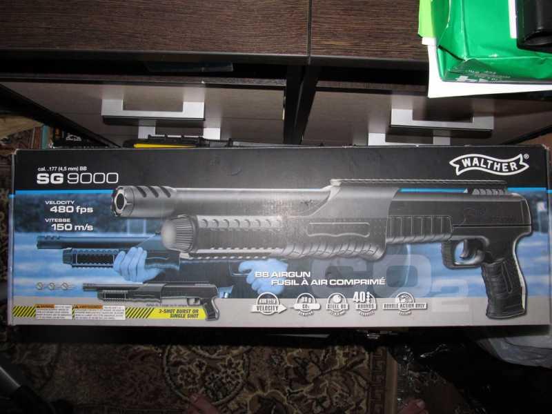 1)Газоболонный типа дробовик Walther SG9000