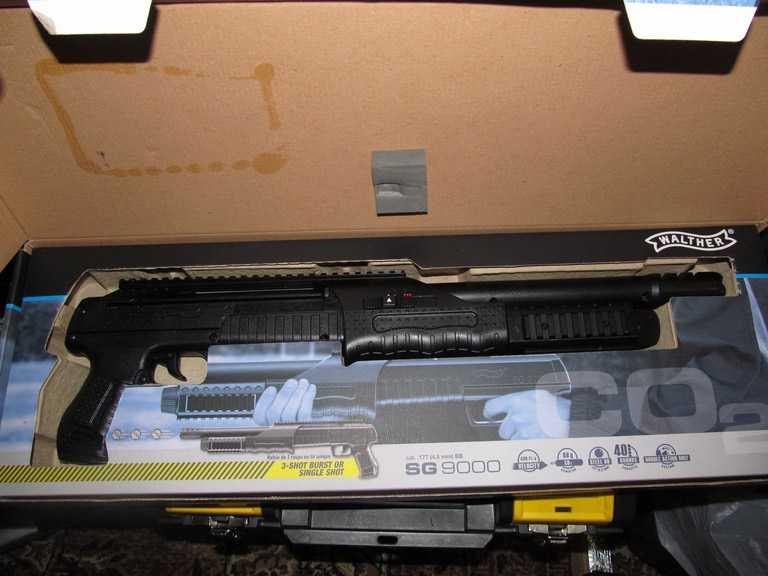 2)Газоболонный типа дробовик Walther SG9000