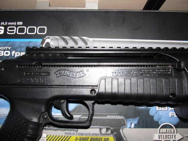 6)Газоболонный типа дробовик Walther SG9000