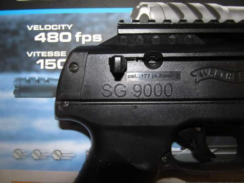 7)Газоболонный типа дробовик Walther SG9000