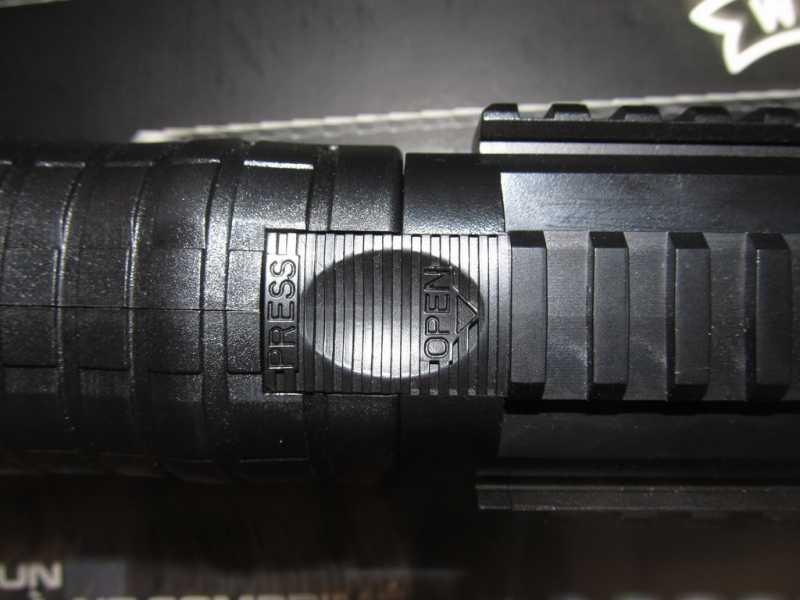 8)Газоболонный типа дробовик Walther SG9000