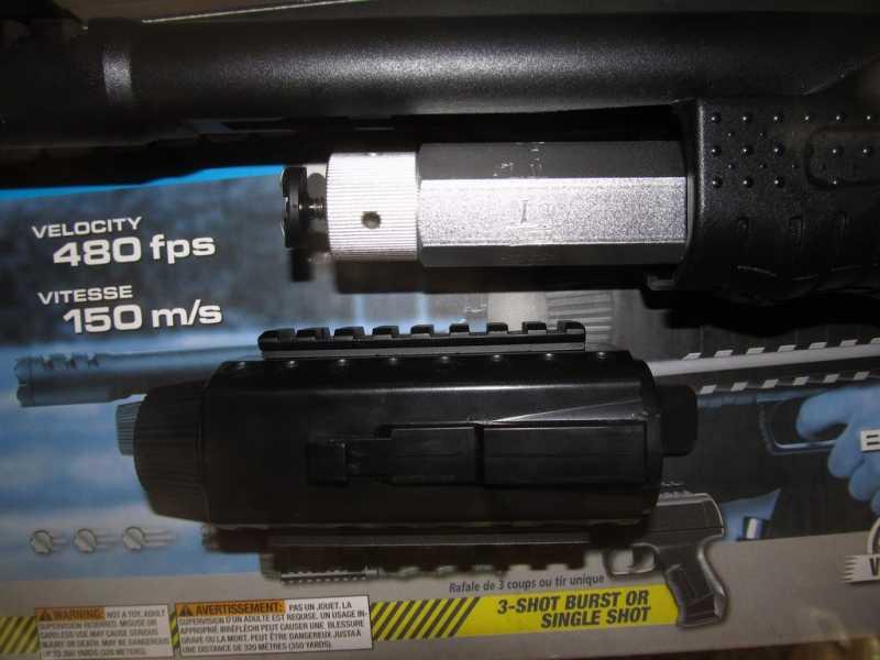 9)Газоболонный типа дробовик Walther SG9000