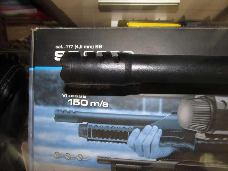 10)Газоболонный типа дробовик Walther SG9000