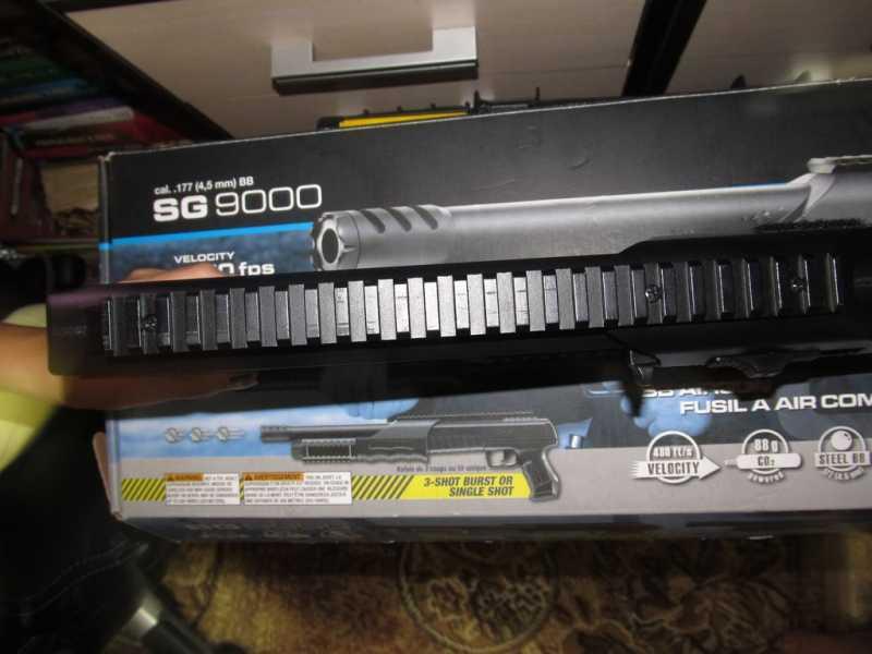 12)Газоболонный типа дробовик Walther SG9000