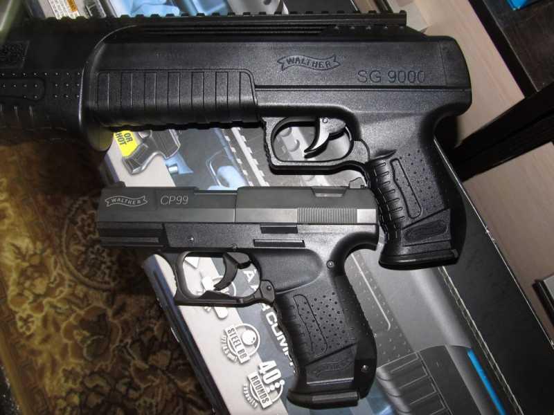 14)Газоболонный типа дробовик Walther SG9000