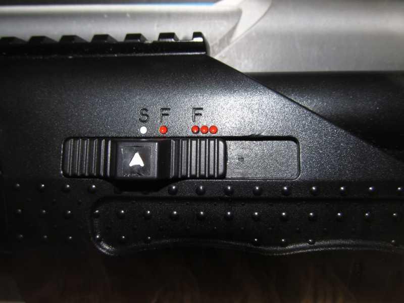 16)Газоболонный типа дробовик Walther SG9000