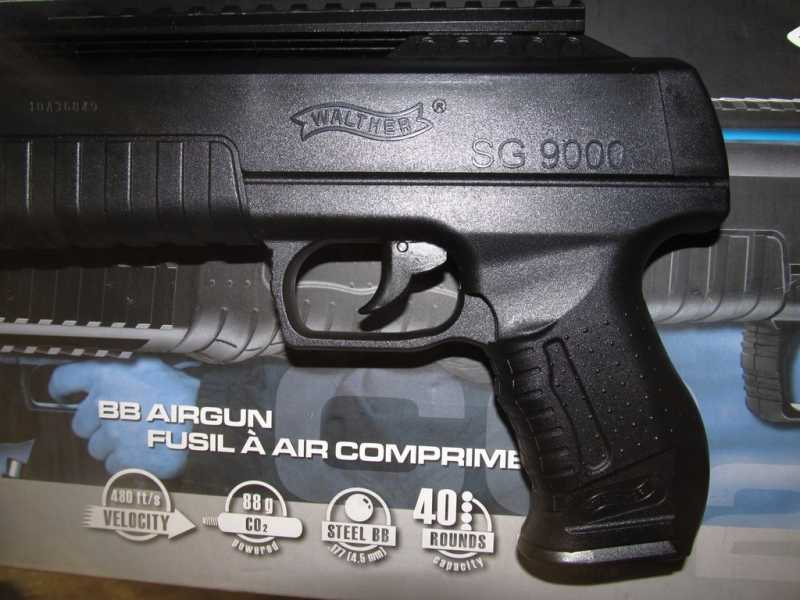 11)Газоболонный типа дробовик Walther SG9000