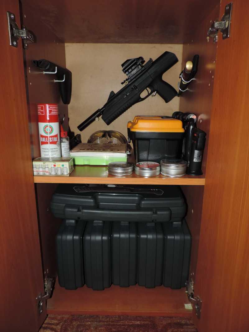 2)Хранение Пневматики дома часть вторая