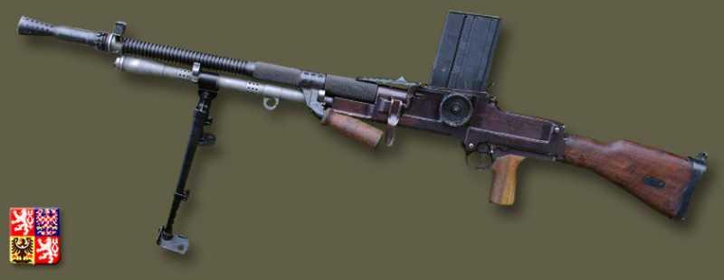 6)ZB 26/30-пулемет Вацлава Холека