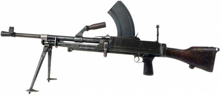 8)ZB 26/30-пулемет Вацлава Холека