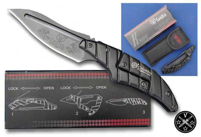 Китайский шарнирный нож K8008 компании San Jia