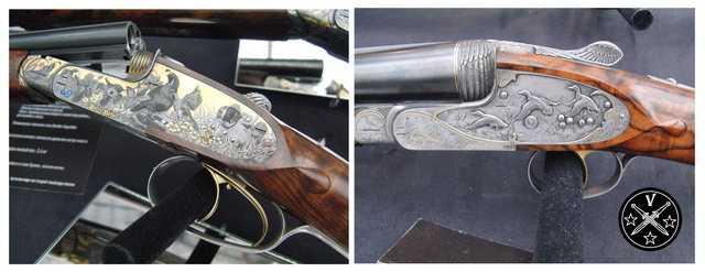 Эксклюзивные ружья Хофера на выставке Arms & Hunting