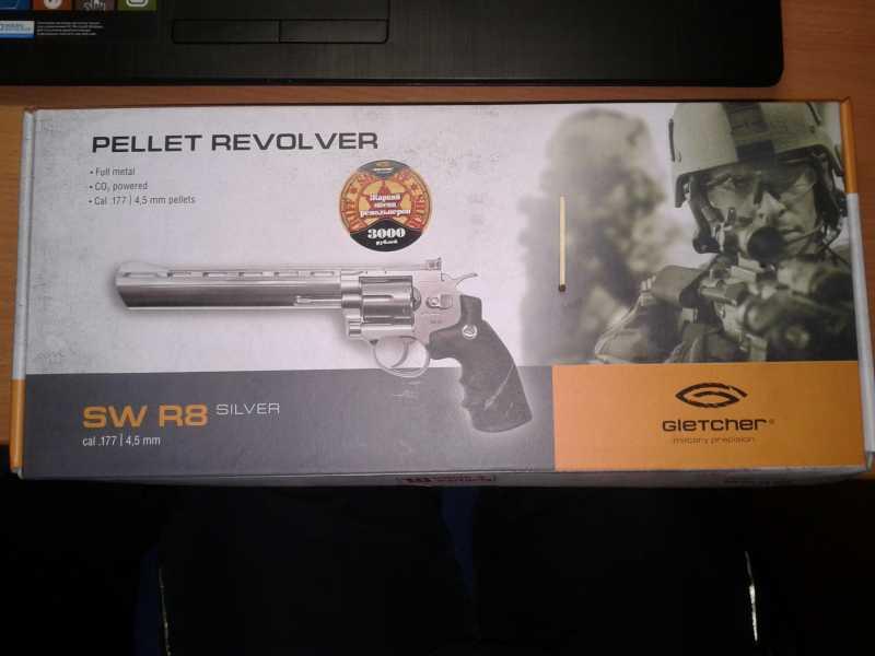 1)Gletcher SW R8 SILVER
