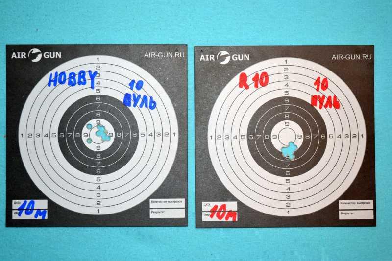 10)Дешево - плохо? Дорого - хорошо? Противостояние: RWS Hobby vs RWS R10 Match Plus
