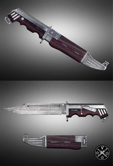 Нож Калаш-47
