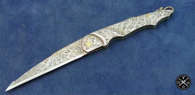 Нож с фиксированным клинком студии Межов