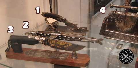 Ножи студии Межов на выставке Arms & Hunting 2015