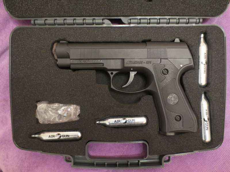 1)Пистолет АТАМАН М1-У. *Ништячки и косячки*.