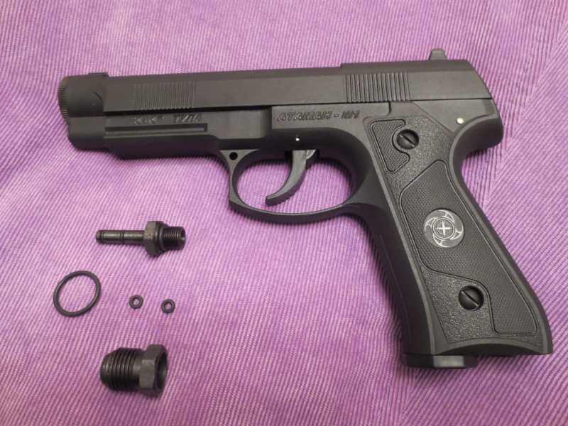 2)Пистолет АТАМАН М1-У. *Ништячки и косячки*.
