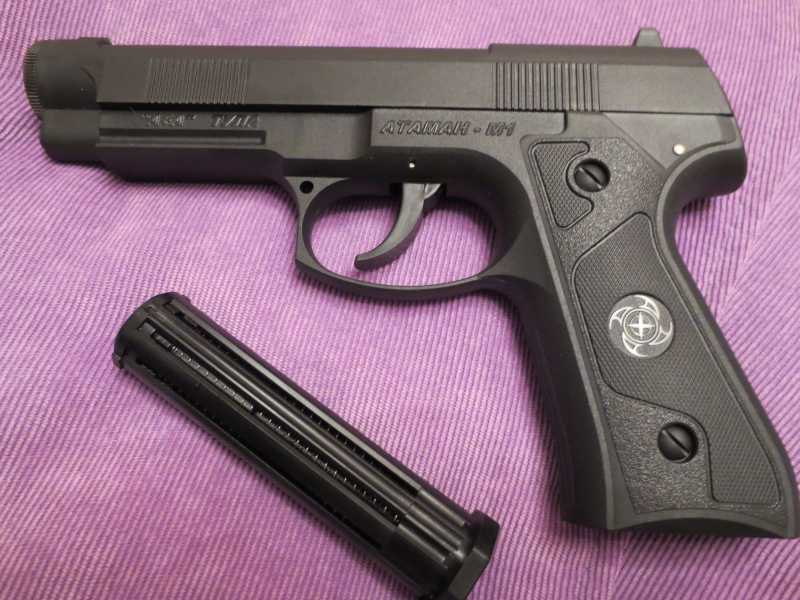 4)Пистолет АТАМАН М1-У. *Ништячки и косячки*.