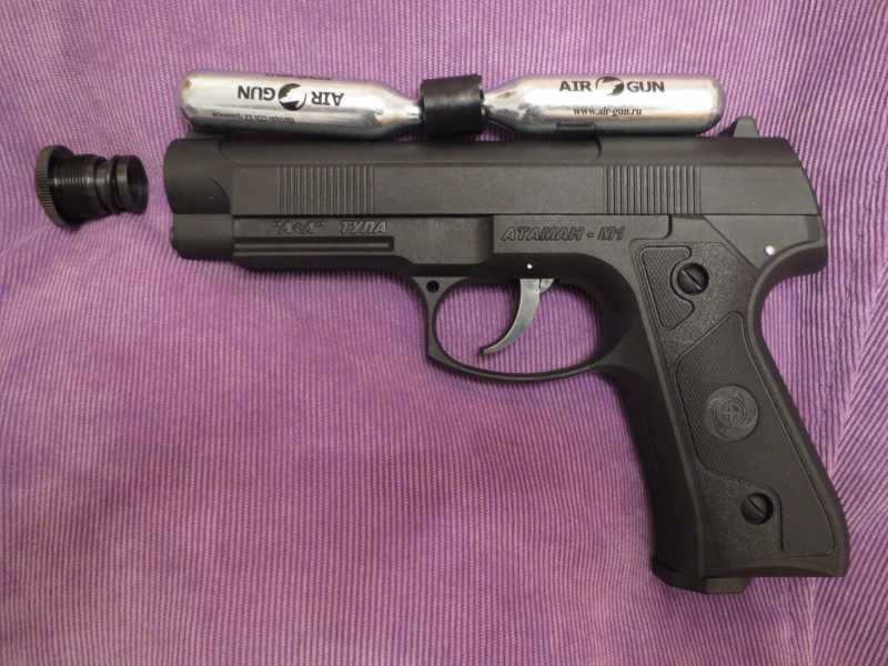 17)Пистолет АТАМАН М1-У. *Ништячки и косячки*.