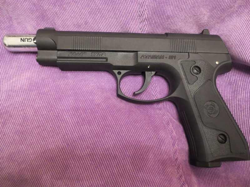 19)Пистолет АТАМАН М1-У. *Ништячки и косячки*.