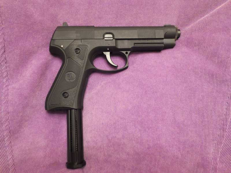 8)Пистолет АТАМАН М1-У. *Ништячки и косячки*.