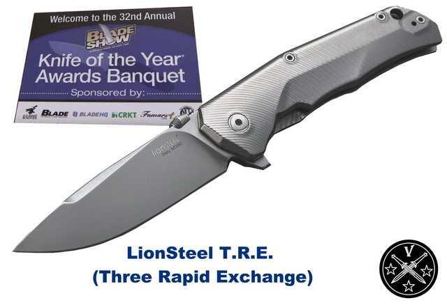 Лучший нож года по версии журнала Blade
