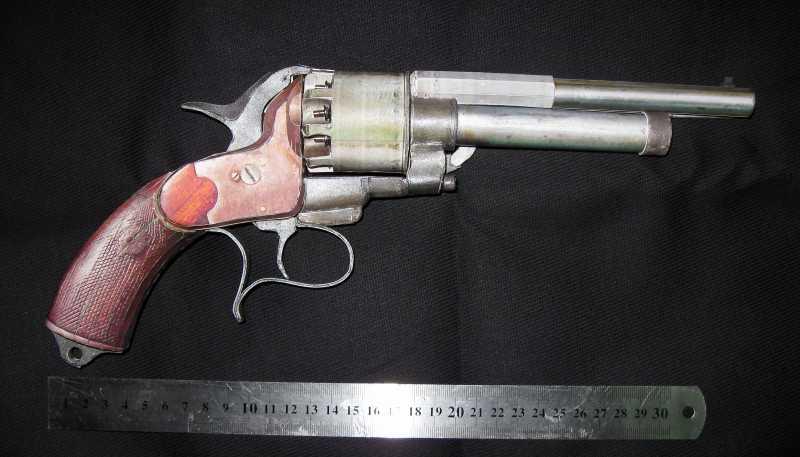 22)Бумажный пистолет