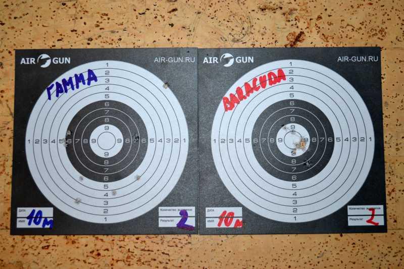 8)Квинтор Гамма 0,7г. vs H&N Barracuda Match 0,69г.