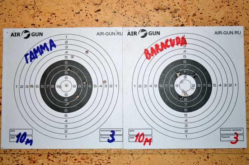 9)Квинтор Гамма 0,7г. vs H&N Barracuda Match 0,69г.